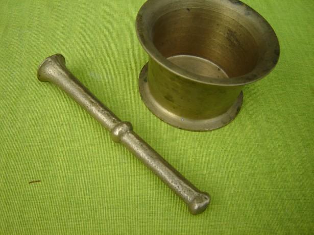 Mojar vechi din bronz, provenienta suedeza