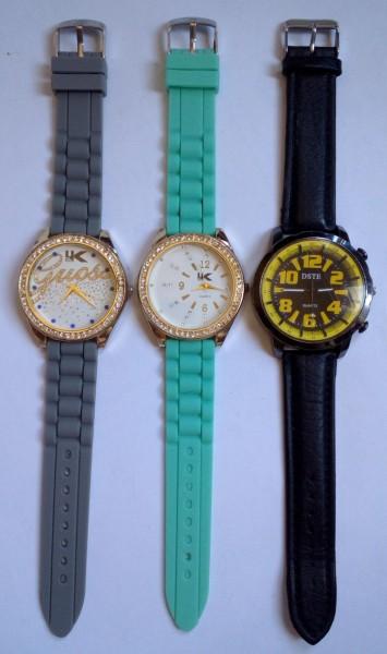 3 ceasuri in stare excelenta, diametre mari
