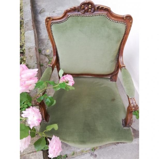 Set Ludovic XV  băncuță cu fotolii și scaune
