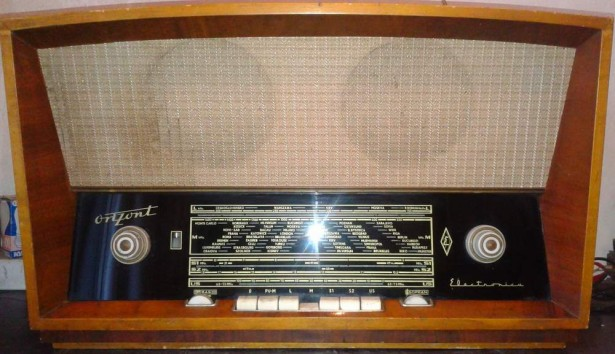 Radio Orizont-Electronica S-620 A,an 1962 vechi vintage