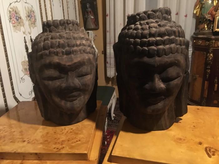 Deosebit set busturi a lui Buddha,piese de exceptie,Myanmar