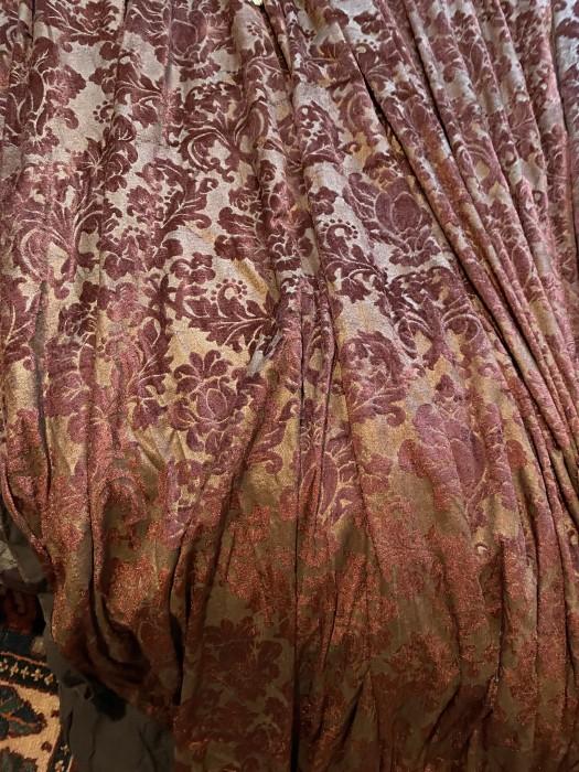 Eleganta draperie de lux, model baroc venetian, Franta